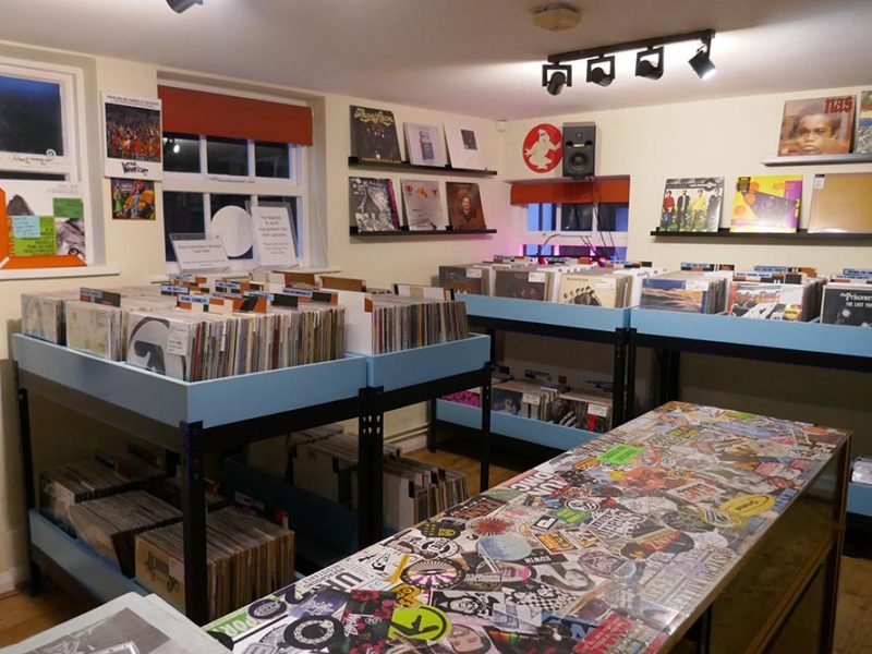 Earworm Records Inside